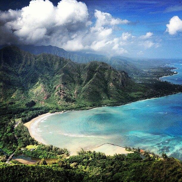 he ultimate guide to Kayaking on Oahu featured by top Hawaii blog, Hawaii Travel with Kids: Kahana Bay on Oahu