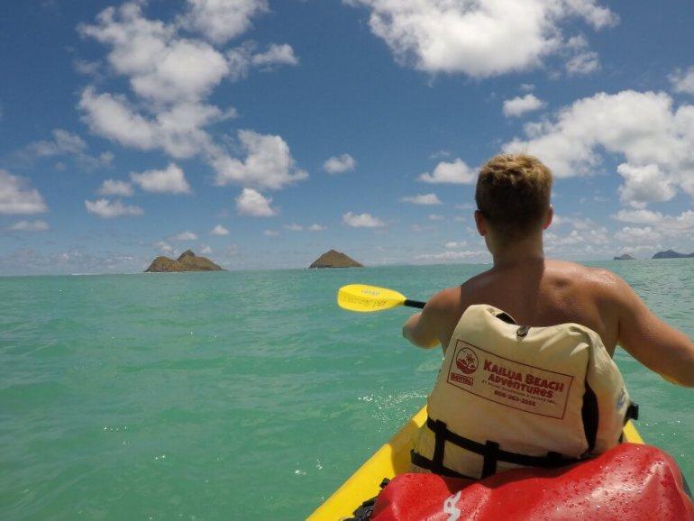 he ultimate guide to Kayaking on Oahu featured by top Hawaii blog, Hawaii Travel with Kids: Kayaking near Kailua, Oahu