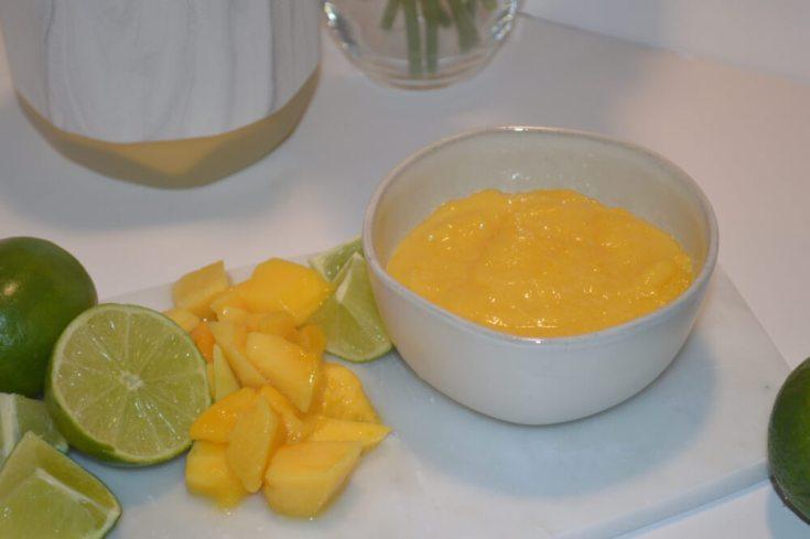Mango Lime Curd