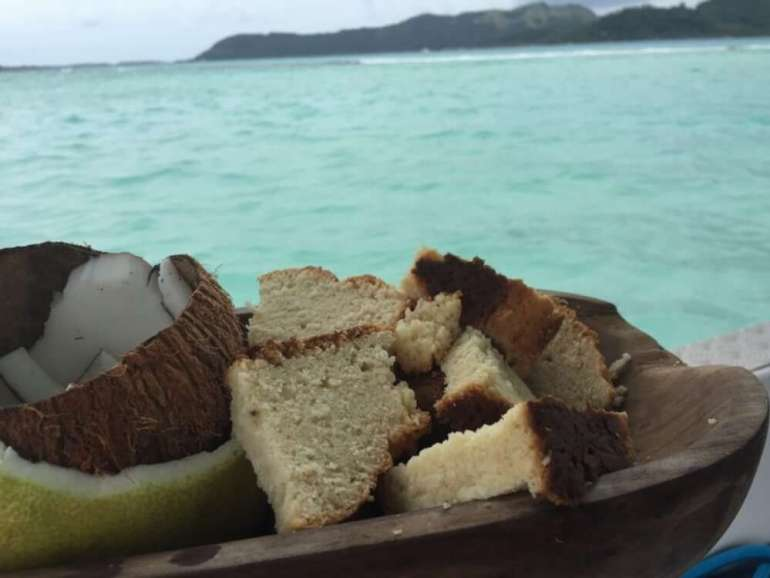 61 Delicious Coconut Dessert Recipes Perfect for Summer featured by top Hawaii blog, Hawaii Travel with Kids: Tahitian Coconut Cake