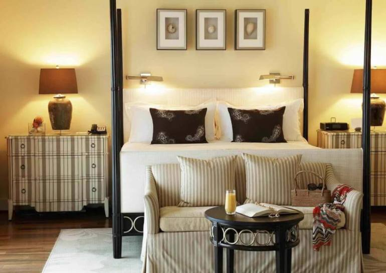 Top 8 Romantic Oahu Honeymoon Resorts featured by top Hawaii blog, Hawaii Travel with Kids: Kahala Resort Room