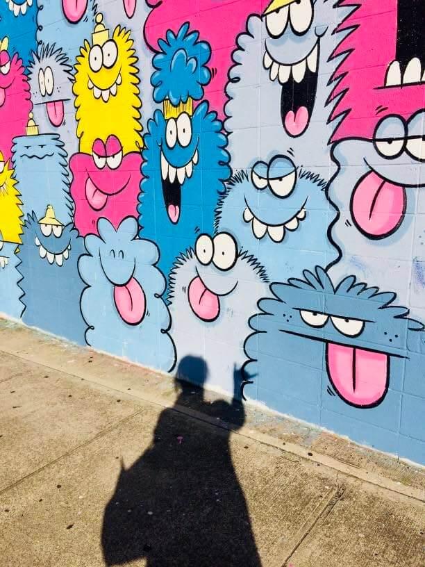 Kakaako Street Art near Waikiki