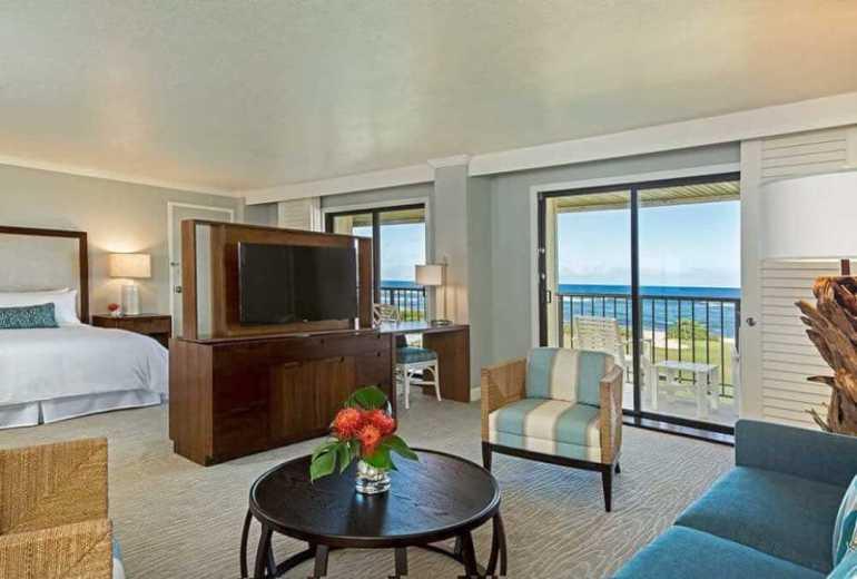 Kauai Beach Resort Oceanfront Suite