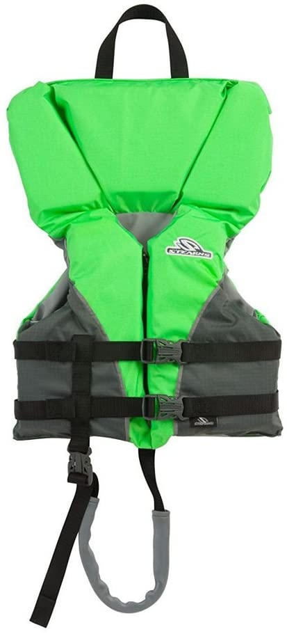 The Best Life Jackets For Toddlers & Preschoolers featured by top Hawaii blog, Hawaii Travel with Kids: Stearn Heads Up