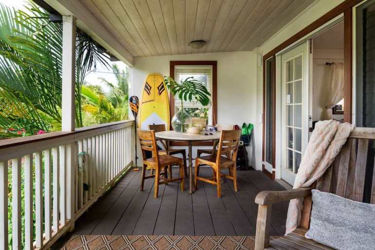 Top 5 Best Maui Boutique Hotels featured by top Hawaii blog, Hawaii Travel with Kids: The Paia Inn is one of the cutes boutique hotels in Maui. Photo Courtesy of Paia Inn