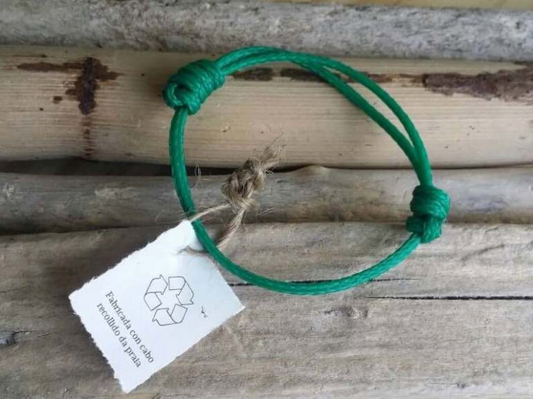 Hawaii Surfing Gifts featured by top Hawaii blog, Hawaii Travel with Kids: Recycled marine rope bracelet / Surf bracelet / Ecofriendly image 0