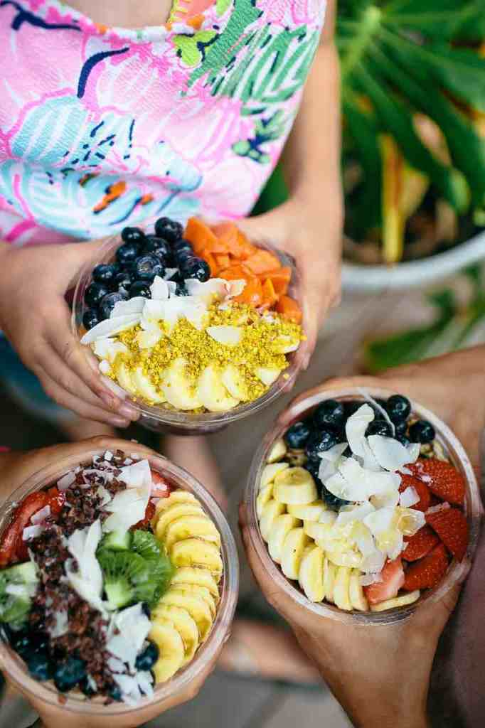Definitely check out Haleiwa Bowls for fresh acai bowls in this North Shore Oahu food truck