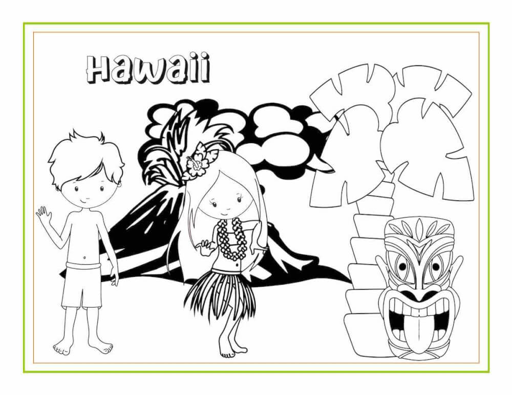Awesome Hawaiian Coloring Sheets And Activity Pages For Kids - Hawaii  Travel With Kids
