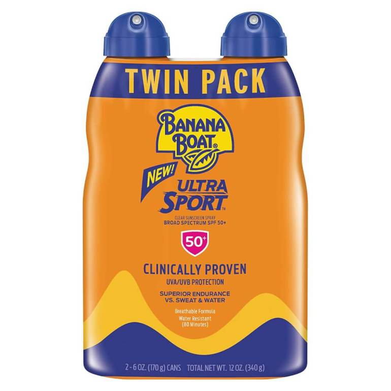 Banana Boat reef safe sunscreen is perfect for outdoor and water activities in Hawaii.