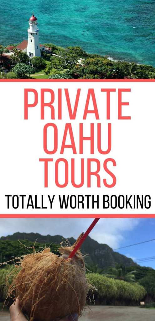 Find out the best private Oahu tours worth booking on your next Oahu vacation. Image of places on Oahu.