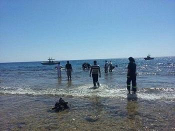 البحث عن 5 أشقاء أردنيين ف قدوا خلال رحلة بحرية في البحر الاحمر