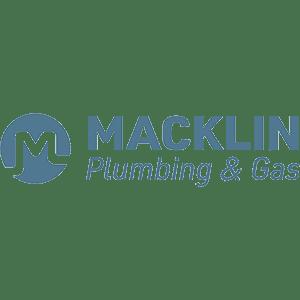 Macklin plumbing logo