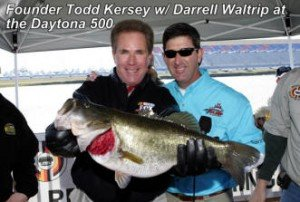 Daytona Speedway Fishing Darrell Waltrip