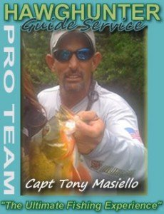 Peacock bass fishing guide Tony Masiello