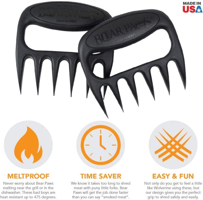 The Original Bear Paws Shredder Claws Barbecue Gift