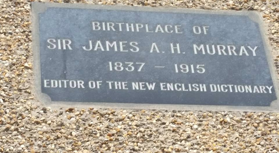 Birthplace of Sir James A. H. Murray
