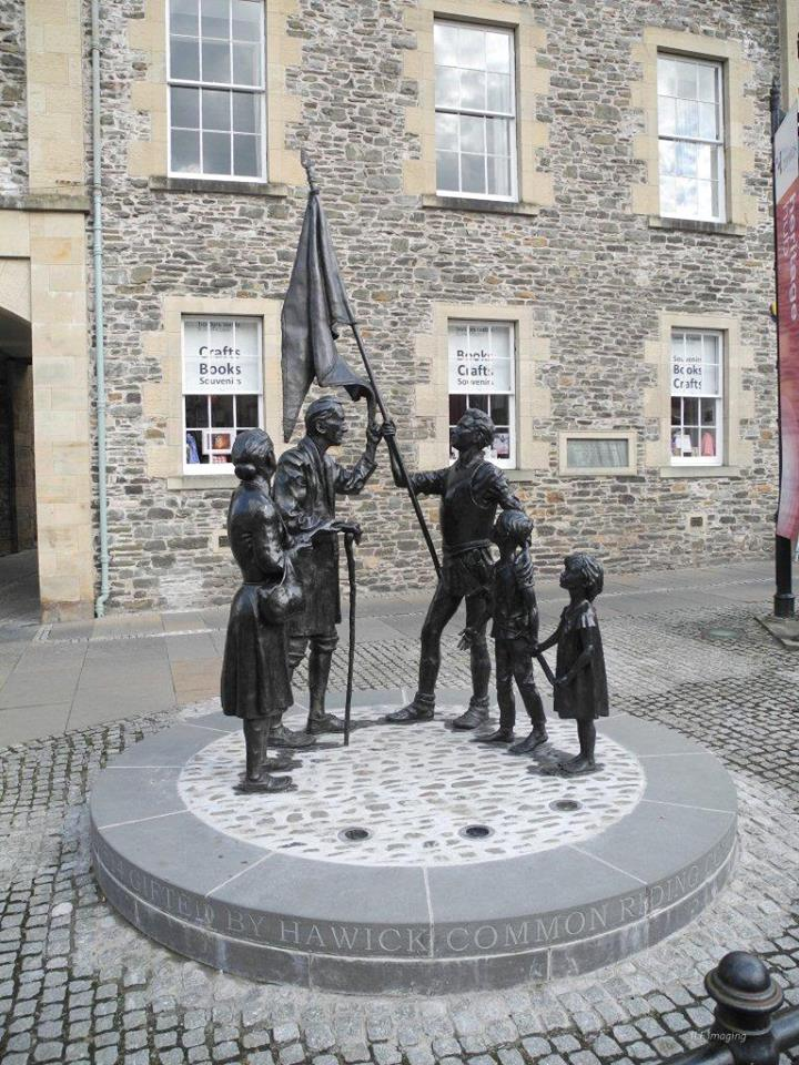 Another fine example of public art in a town which already has some of the finest examples of its kind.