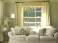 Drapes for living room - 35 methods to make your room seem ...