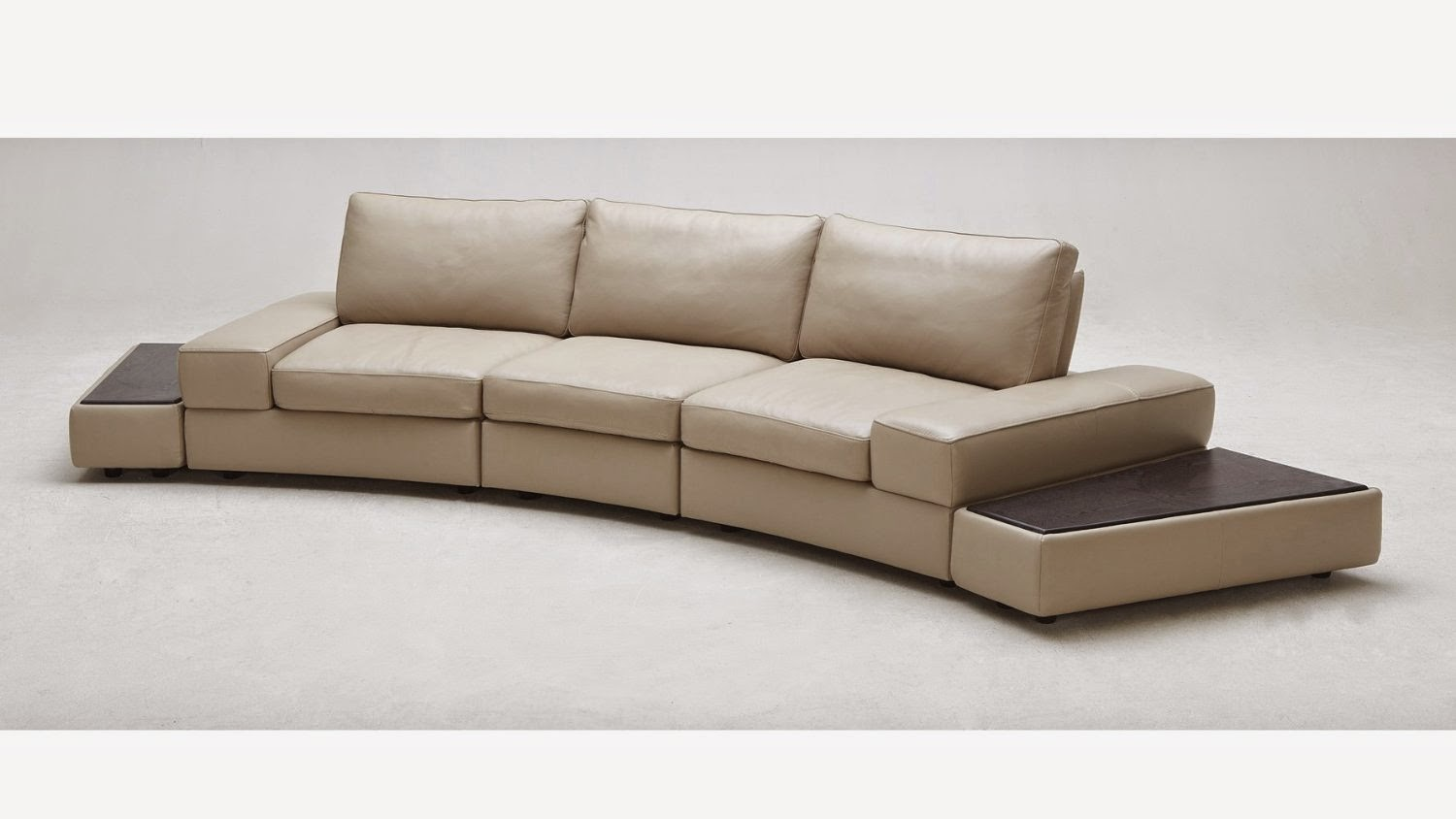 modern twine curved arm sofa mission style faux leather sectional sofas hawk haven