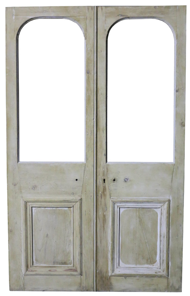 Victorian french doors exterior  Hawk Haven