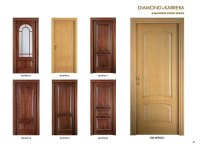 Solid Wood Single Door Design | Hawk Haven