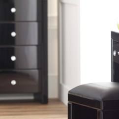 Black Glass Living Room Furniture Long Skinny Bedroom Hawk Haven Photo 7