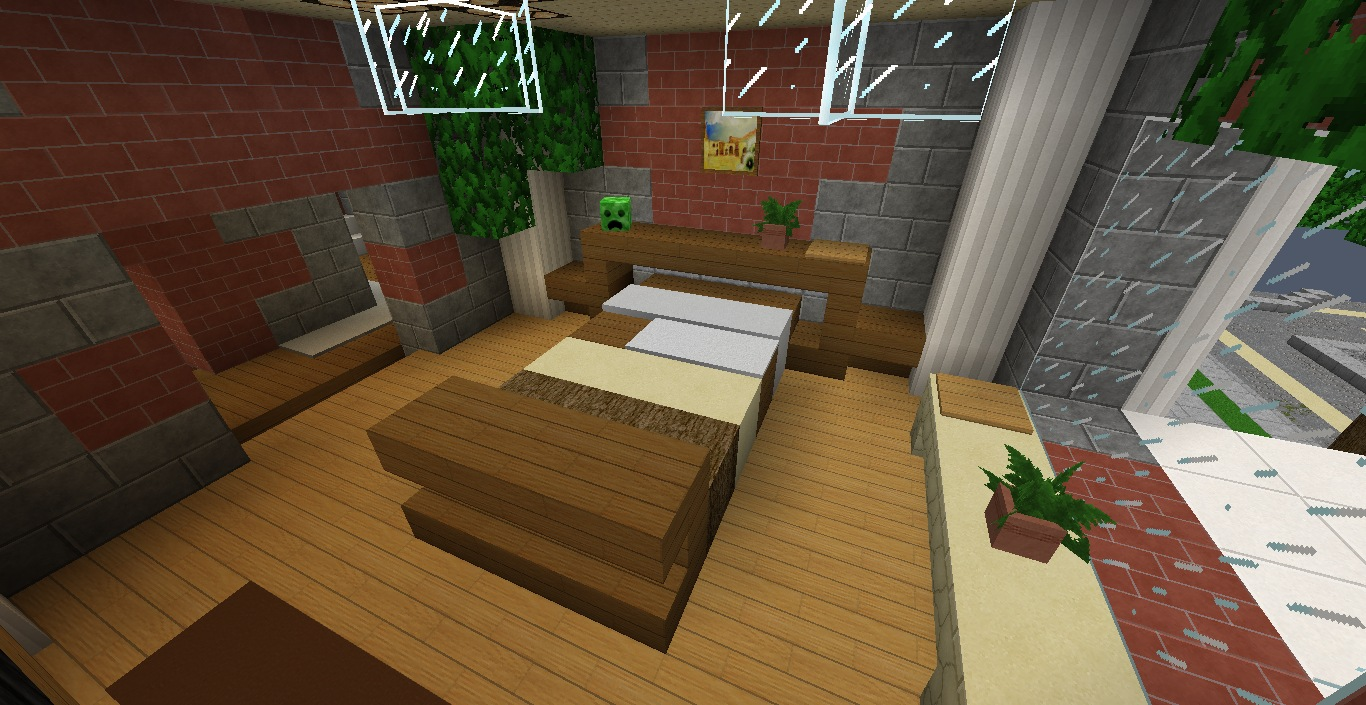 The living room is one of the most important areas in your house for a great hosting experience. Modern Minecraft Living Room Furniture