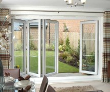 Bi Folding French Doors Exterior Hawk Haven