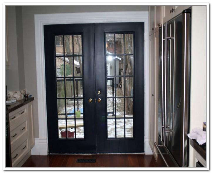Black French Doors Exterior Hawk Haven