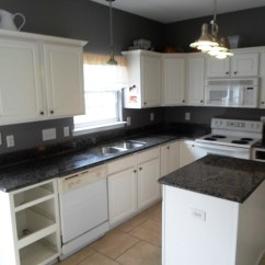 Kitchen Cabinets And Countertops Single Bowl Sink Black Granite Hawk Haven