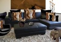 Cheetah print bedroom accessories | Hawk Haven