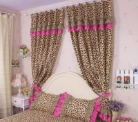 Cheetah print bedroom curtains | Hawk Haven
