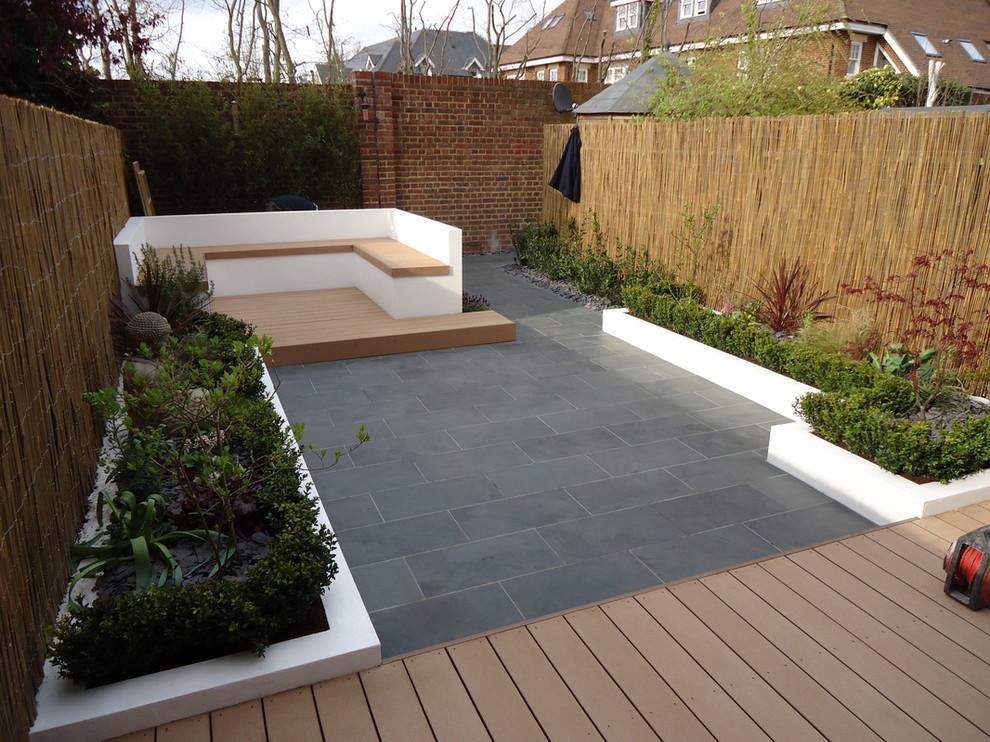 Contemporary garden wall ideas