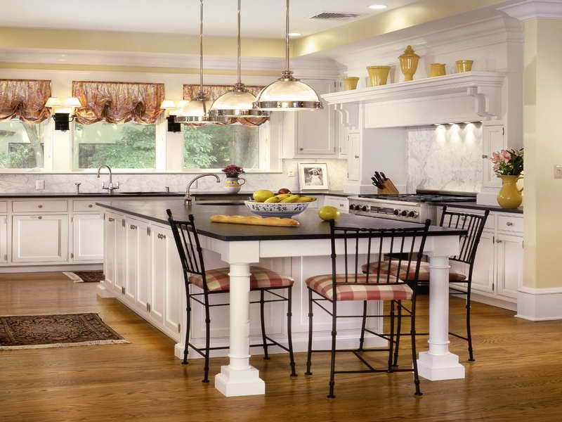 Country living kitchen designs  Hawk Haven