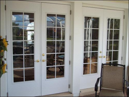 French doors exterior security doors  Hawk Haven