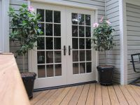 French doors exterior used