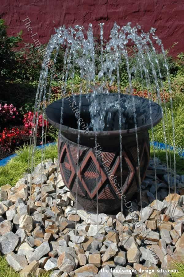 Homemade Garden Fountain Ideas Hawk Haven
