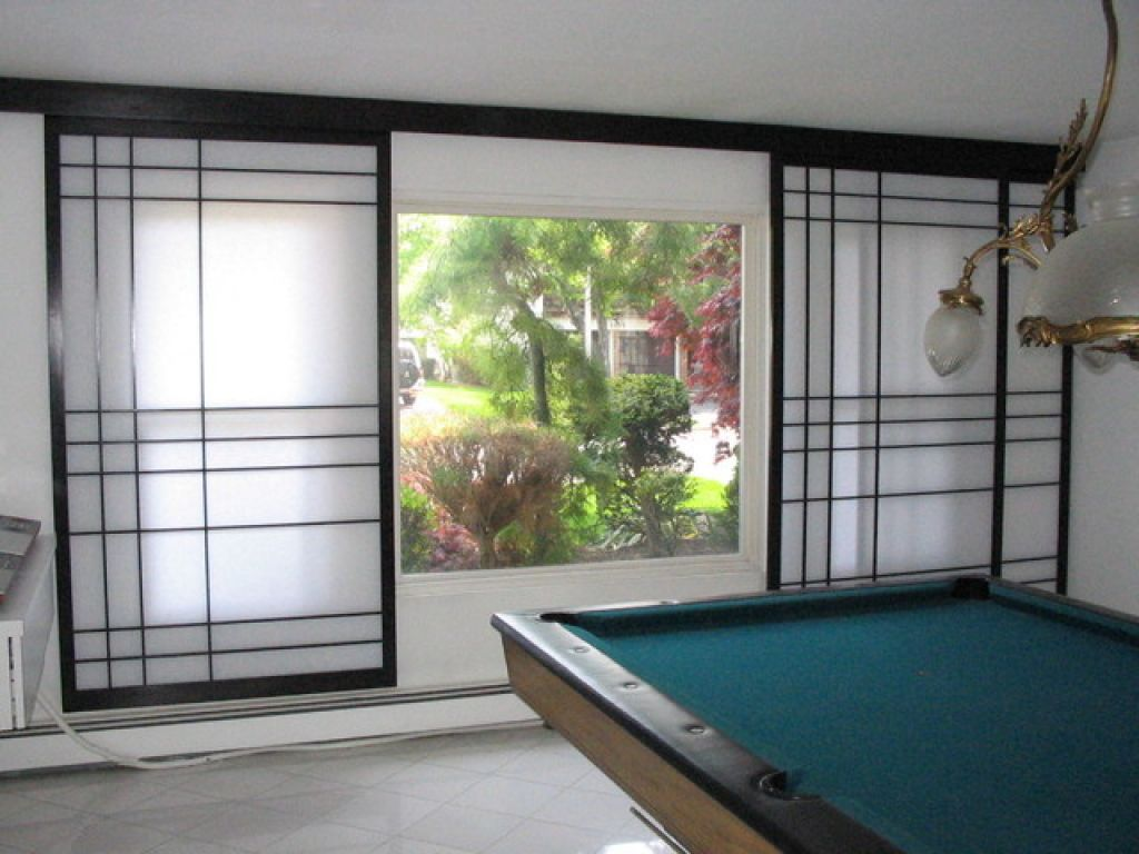 Japanese shoji screens for sliding glass doors  Hawk Haven