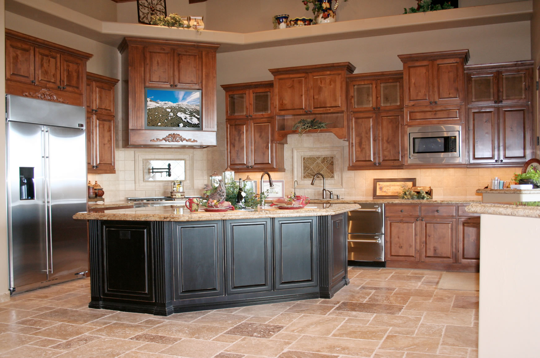 Kitchen Design Ideas Oak Cabinets Hawk Haven