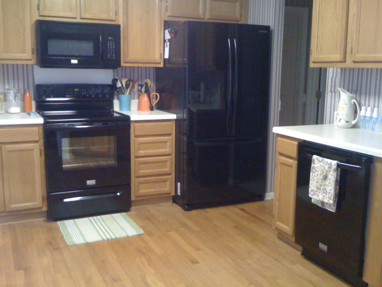 Kitchen design ideas with black appliances  Hawk Haven
