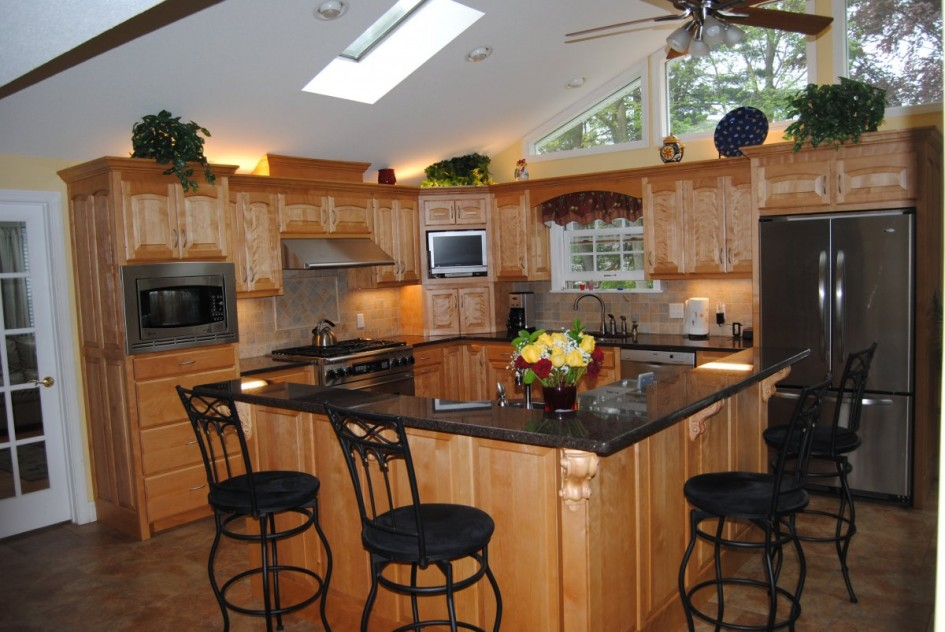 L Shaped Kitchen With Island Plans Hawk Haven