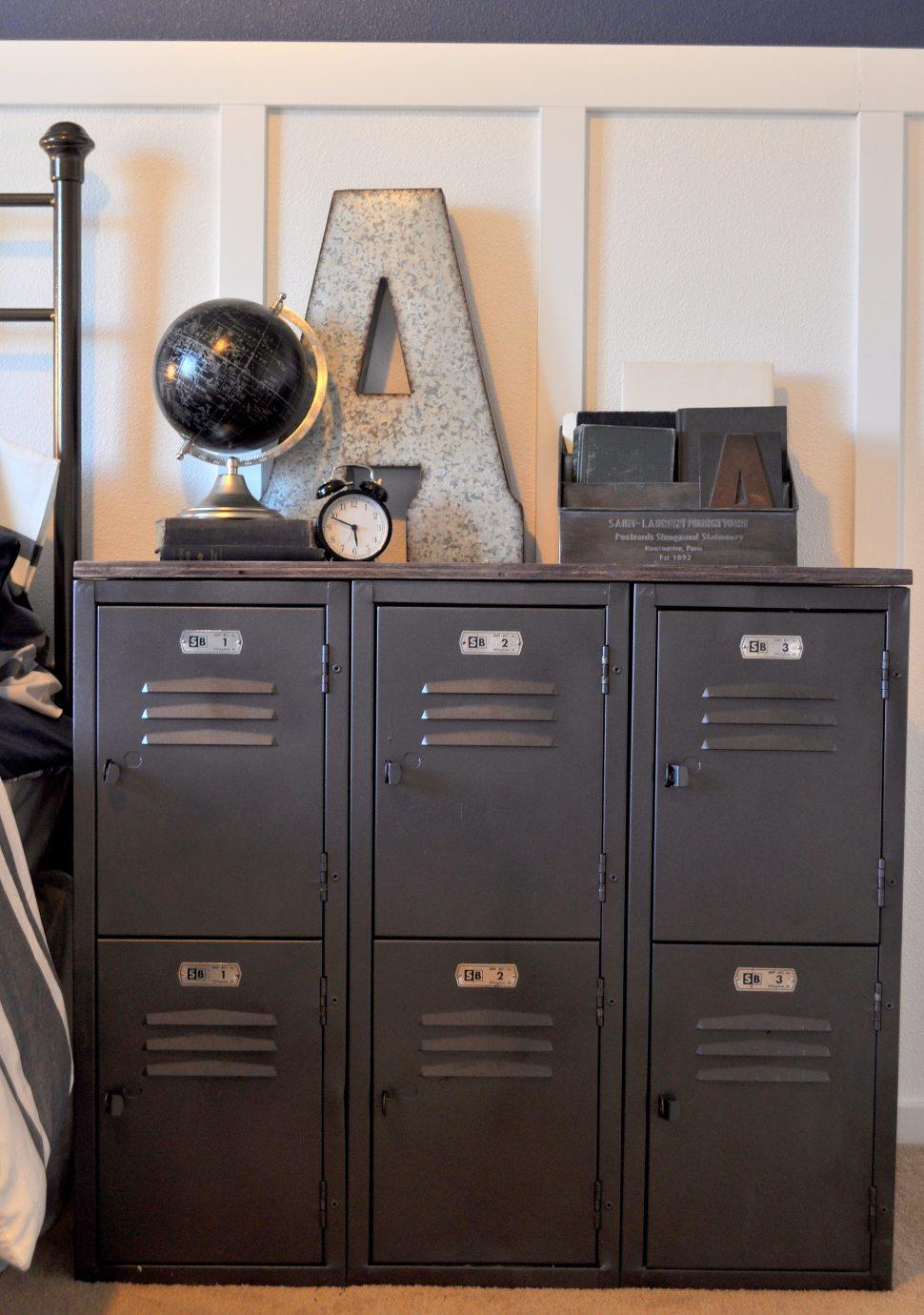 Locker style bedroom furniture for kids  Hawk Haven