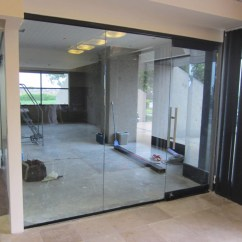 Wallpaper Ideas For Living Room India Dark Wood Floor Office Interior Glass Walls   Hawk Haven