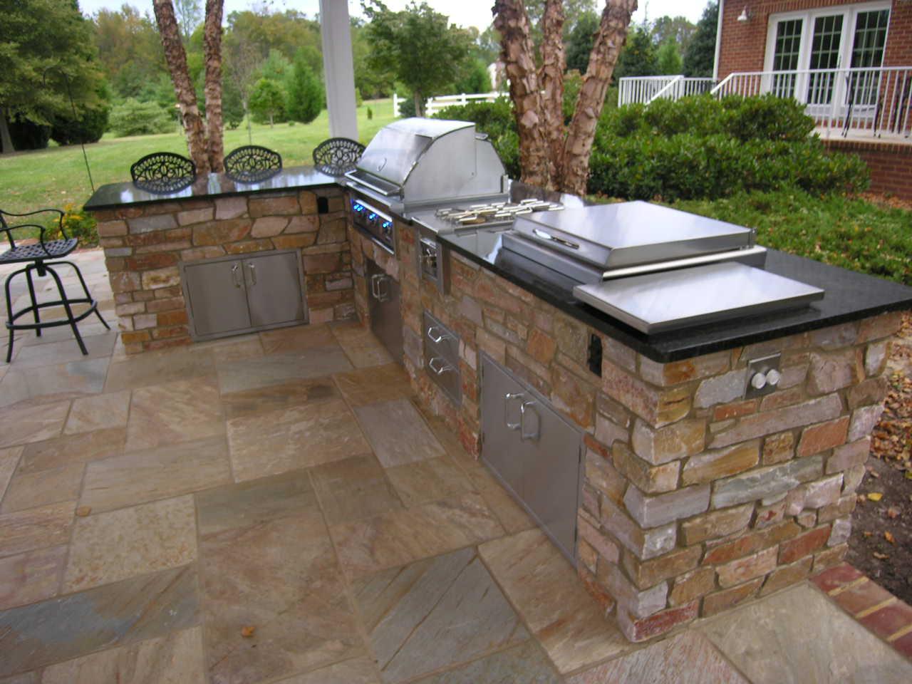 Outdoor Kitchen And Bar Designs Hawk Haven