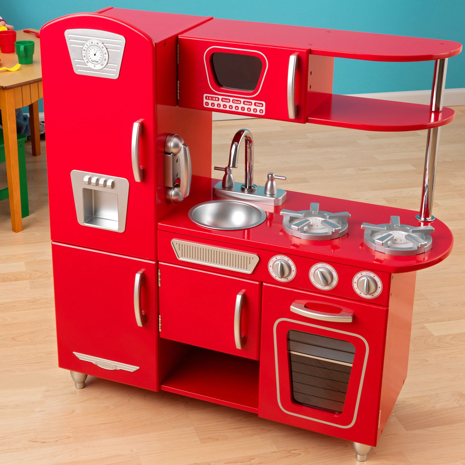 retro kids kitchen pantry stand alone sets for hawk haven photo 1