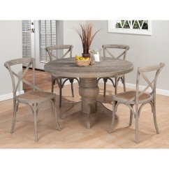 Kitchen Table And Chairs Set With Booth Antique Wingback Round Dining Hawk Haven Photo 2