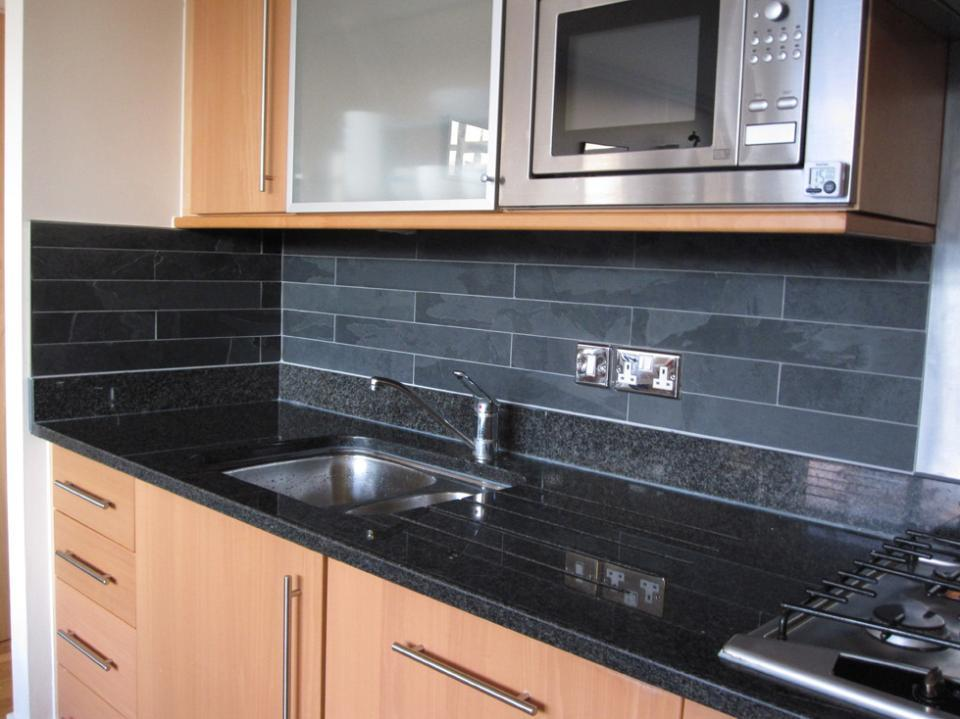Slate tiles for kitchen wall  Hawk Haven