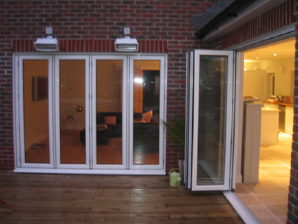 Sliding glass pocket doors exterior  Hawk Haven