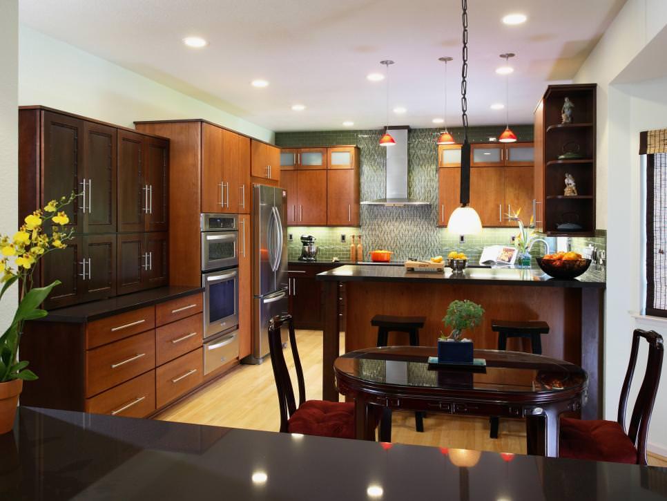 Small zen kitchen design  Hawk Haven