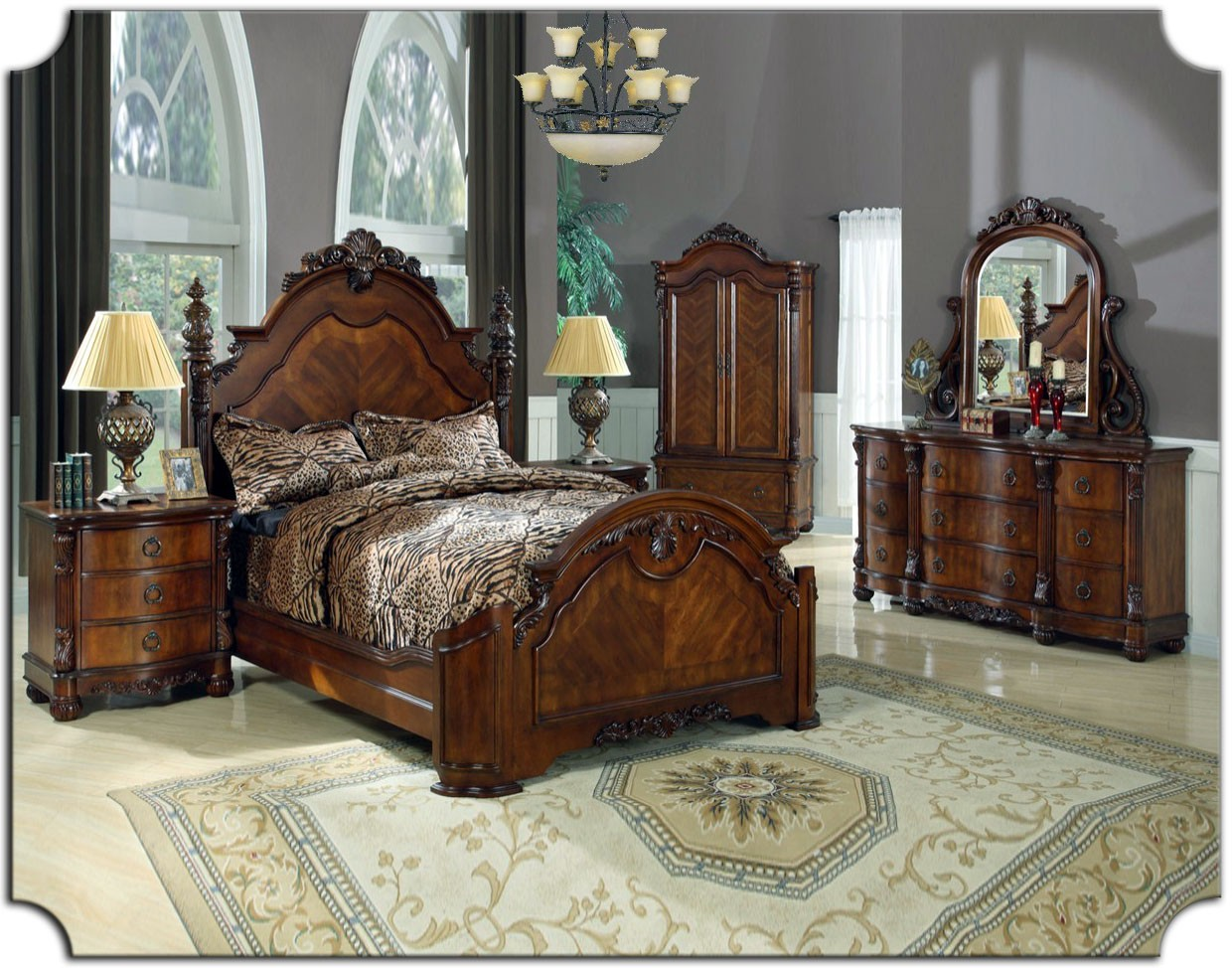 Traditional bedroom furniture sets  Hawk Haven